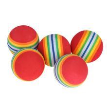 Тренировочное учебных пособий свинг ева гибкие поле мячи практика вес радуга