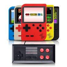 Gameboy 휴대용 핸드 헬드 콘솔 내장 400 레트로 게임 지원 2 플레이어 tv 콘솔