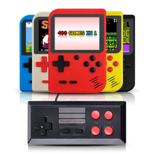 for gameboy portable handheld console built in 400 retro games support 2 players TV console