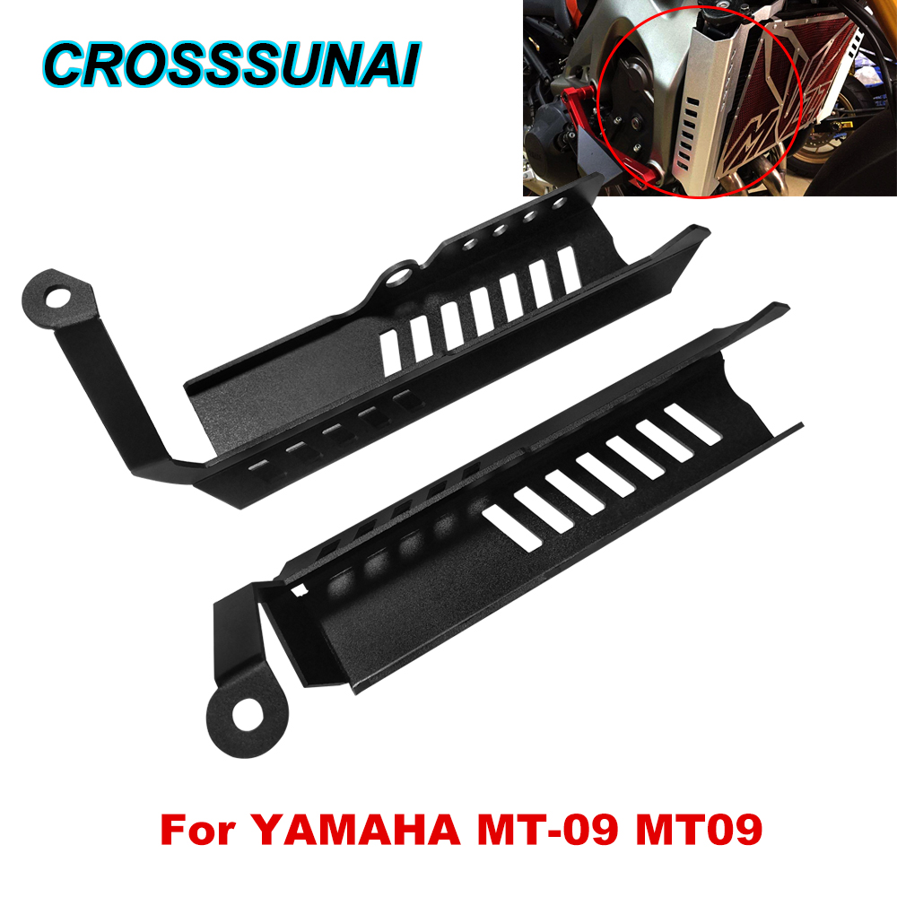 Motorcycle Side Radiator Grille Cover Guard Protector For YAMAHA MT 09 MT09 Water tank Side Protection Cover Motorbikes Parts