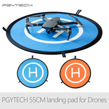 цена на PGYTECH 55CM Fast-fold landing pad Spark helipad RC Drone Gimbal Quadcopter parts Accessories for DJI Phantom Mavic Spark