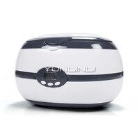 Ultrasonic Cleaning Machine Glasses Ultrasonic 700ml Washing Machine Pot Household Denture Jewellery Washing Equipment VGT 2000
