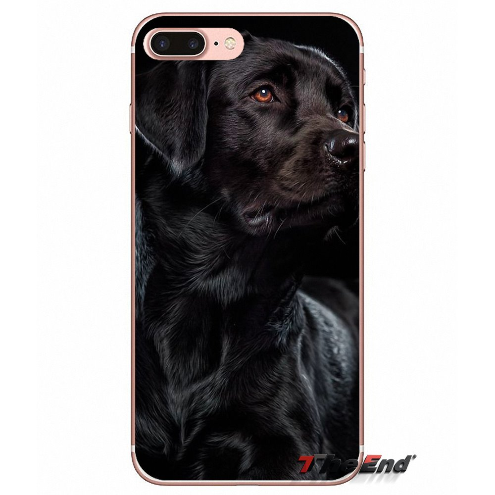 new products 94b16 f72e5 US $0.99 |pretty Black Lab Labrador puppy Dog Soft Case For iPhone X 4 4S 5  5C SE 6 6S 7 8 Plus Samsung Galaxy J1 J3 J5 J7 A3 A5 2016 2017-in ...