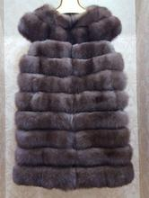 New Really Fox Fur Coat Natural Fur Clothing Along The Fox Jacket Fur Coat Woman's Real Fur