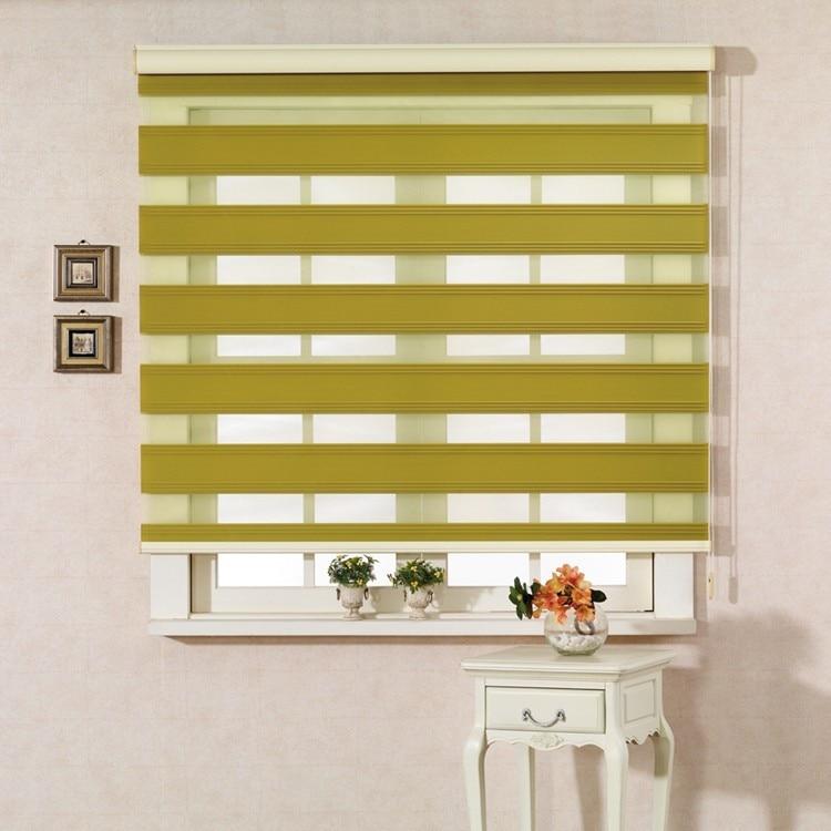New Indoor Home Window Day Night Zebra Roller Blinds