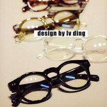 Распродажа, Ретро стиль, круглые оптические очки, оправа, прозрачные компьютерные очки, для мужчин и женщин, Oculos De Grau, близорукость, очки по рецепту