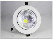 3W 5W 7W 12W COB Dimmable LED Downlight 85-265V Recessed LED Spot Light Ceiling Lamp Light for Indoor Lighting white body