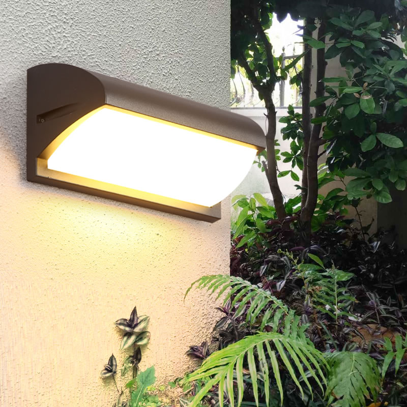 Led Outdoor Wall Lamp Waterproof Outdoor Exterior Wall Light Garden Lamp Household Outdoor Waterproof Rust Proof led Wall Lamp цена 2017