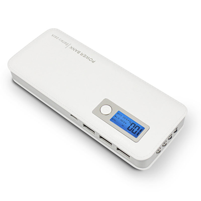 DCAE Power bank 3 USB PowerBank Быстрая Зарядка 20000 мАч Портативное Зарядное Устройство для iphone смартфон