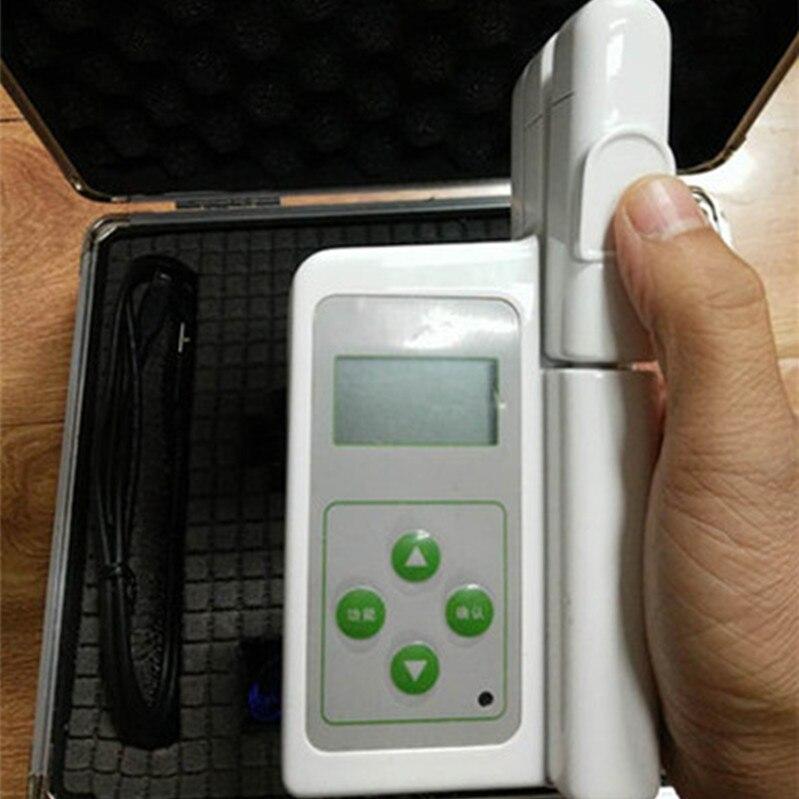 Digital Medidor de Clorofila TYS-A Analyzer Detector Tester Medidor de Concentração para Instrumento Agrícola Ferramenta Fruto Da Planta Árvore