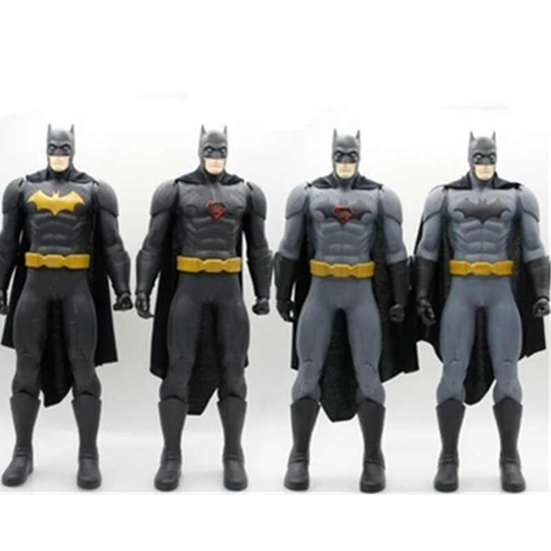 Madrugada de Justiça Batman VS Superman Batman 1/4 Oversize Bruce Wayne PVC Action Figure Collectible Modelo Toy 50 CM CAIXA p1136