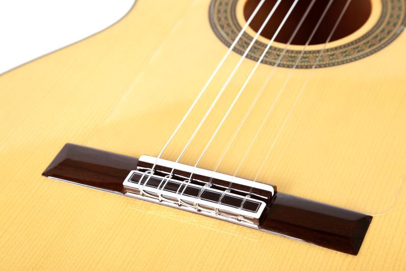 Solid Spruce / Aguadze Body + STRINGS, Klassik gitara ilə 39 - Musiqi alətləri - Fotoqrafiya 6