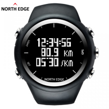 NorthEdge New GPS watch digital Hour Men digital wristwatch smart Pace Speed Calorie Running Jogging Triathlon Hiking waterproof