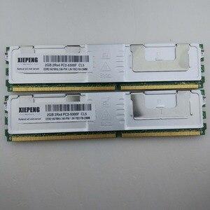 Para a memória do servidor 8 gb ddr2 ecc inteiramente buffer da memória 8 gb ram 4 gb 667 mhz FB-DIMM 8 gb 2rx4 PC2-5300F para hp proliant bl20p g4 bl460c g5 xw460c