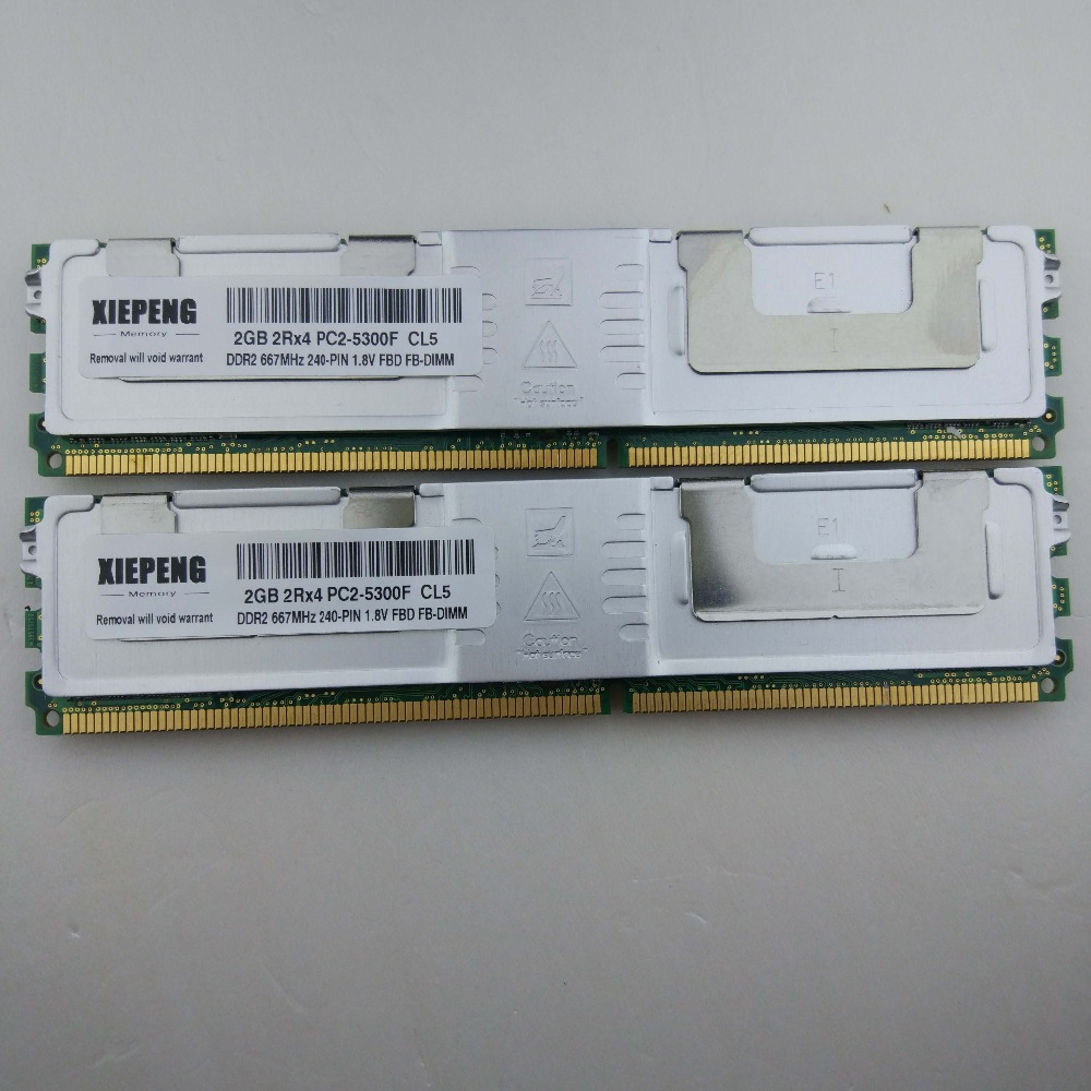 for <font><b>HP</b></font> ProLiant BL20p G4 BL460c G5 xw460c Server Memory 8GB DDR2 ECC Fully Buffered <font><b>RAM</b></font> <font><b>4GB</b></font> 667MHz FB-DIMM 8GB 2Rx4 PC2-5300F image