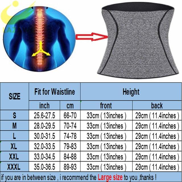 LAZAWG Women Waist Trainer Tummy Control Girdle Neoprene Sweat  Weight Loss Top Slimming Underwear Workout Belt Modeling Strap 5