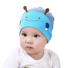a16cfdd0616 New Multicolor Cartoon Animal Baby Toddlers Cotton Comfort Sleep Cap  Headwear Cute Bee Hats for Girls