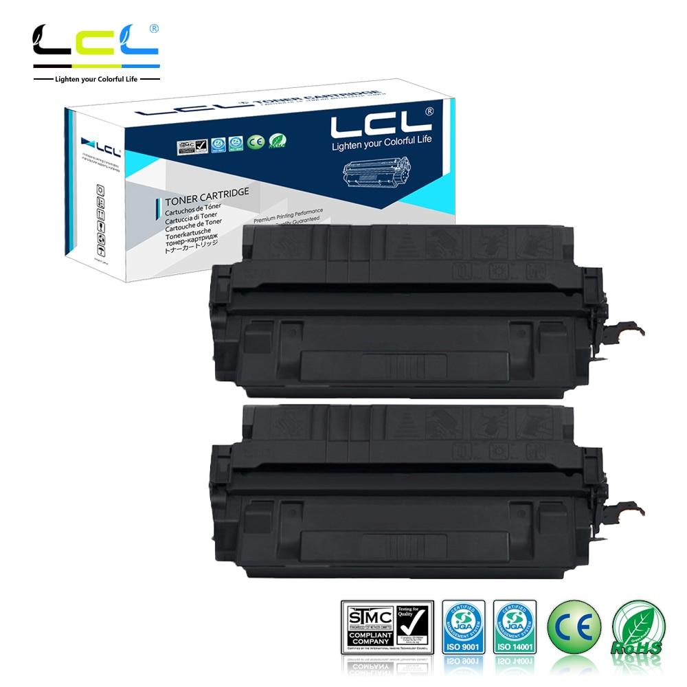 LCL EP-62 CRG-H EP62 CRGH (2-Pack Black) Toner Cartridge Compatible for Canon Image Class 2200/2210/2220/LP-3000/3010 lcl 707 crg707 307 crg 307 4 pack black cyan magenta yellow toner cartridge compatible for canon i sensys lbp5000 5100