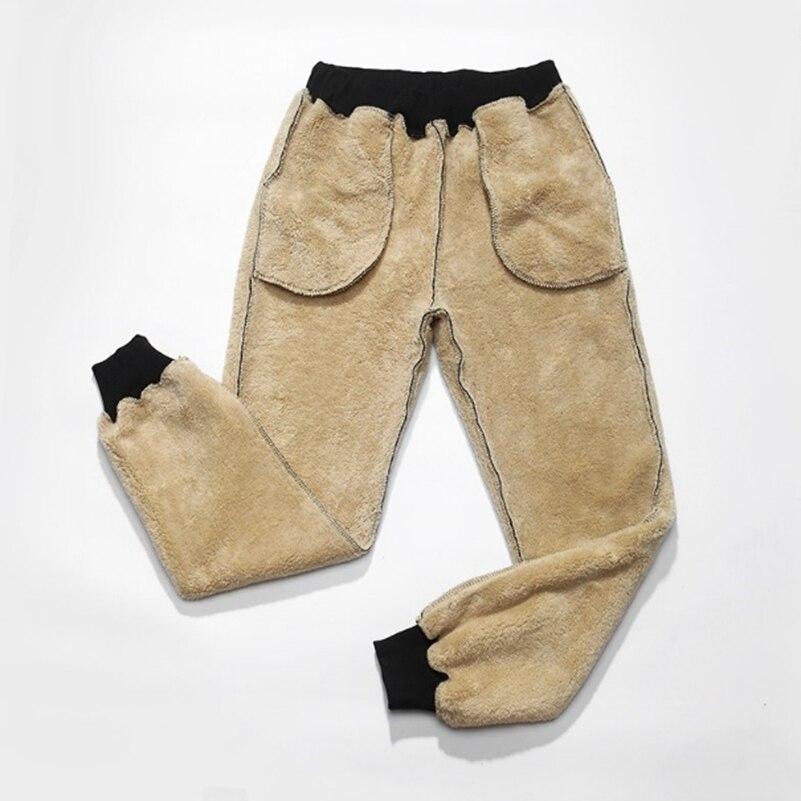 Et Réparation De Code Noir Hommes Pantalon Casual bleu 8xl gris Hiver Corps 2018 Nouvelle Épaississement Cachemire Agneau Grand qzSqHvw