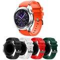 22mm correa de reloj para samsung gear s3 clásico o 2016 Oct12 Superior de Deportes de La Moda de Silicona Reloj de Pulsera Para Hombres Mujeres banda