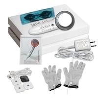 6 In 1 Multifunctional Women EMS Ultrasonic Cavitation LED Galvanic Ion Facial Body Beauty Machine Anti