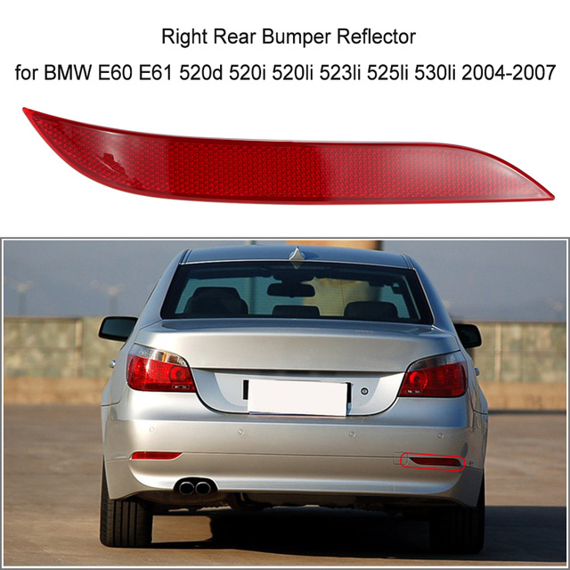 Aliexpress Buy Right Rear Bumper Reflector Light Lens For Bmw
