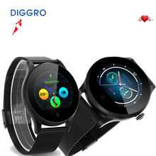 Novo smart watch diggro k88h mtk2502c dispositivos wearable smartwatch bluetooth heart rate monitor relógio de pulso para ios android(China (Mainland))