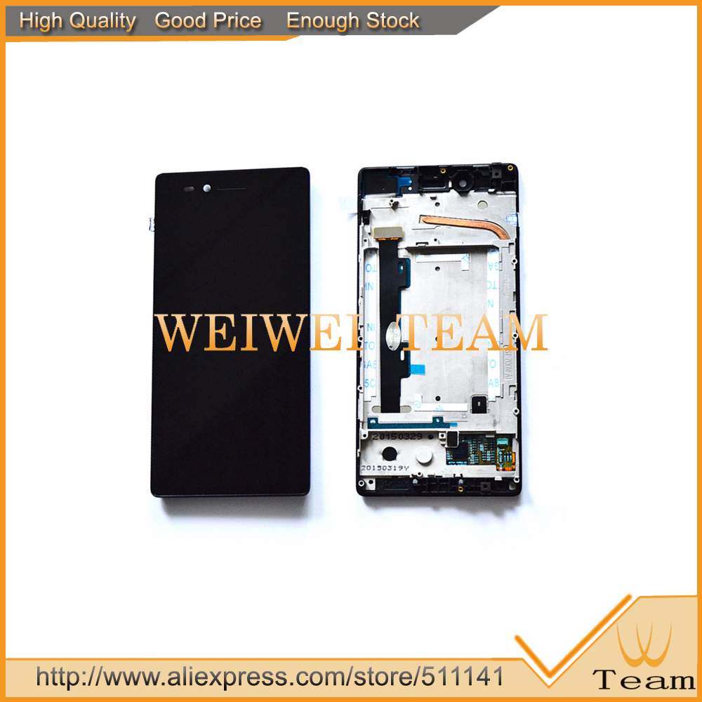 For Lenovo Vibe Shot Max Z90-7 Z90-3 LCD Display + Touch Screen Front Lens Glass Panel z90a40 z90-a Assembly Replacement аксессуар чехол lenovo k10 vibe c2 k10a40 zibelino classico black zcl len k10a40 blk
