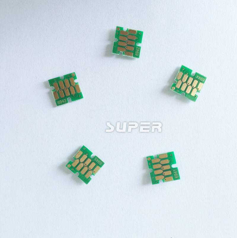 New auto reset ARC cartridge chips for Epson surecolor T3000 T5000 T7000 ink cartridges