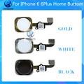 1 Шт. Тест Лучшее Качество AAA Главная Кнопка Ключевые Flex Ленточный Кабель Для iPhone 6 6 Plus Черный Белое Золото Freeshipping
