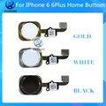 1 unids mejor prueba de calidad aaa botón tecla inicio flex cable cinta para iphone 6 6 plus negro blanco de oro freeshipping