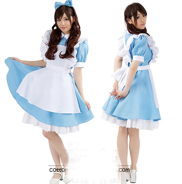 Alice in wonderland cosplay dress