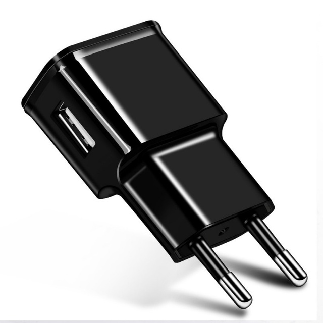 2PCS/lot 5V 2A Travel Convenient EU Plug Wall USB Charger Adapter For Samsung galaxy S5 S4 S6 note 3 2 For iphone 7 6 5 4 6