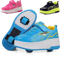 Heelys Baby Wheelie Shoes For Baby Boy&Girl Roller Skates Baby Fashion Sneakers Double Wheel