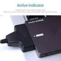 706 Sata to USB Adapter Up to 6 Gbps Support 2.5 Inches External SSD HDD Hard Drive 22 Pin Sata III Cable