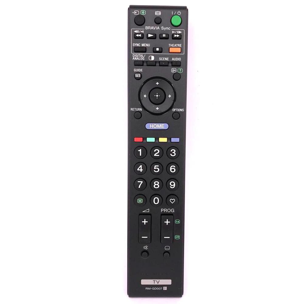 New Original/Genuine RM-GD007 Remote Control For SONY TV RM GD007 Remoto Controller Fernbedienung new original rm pp760 for sony av system theater video remote control rm aap002 rm pp411 at 4800dp 4850dp 5800dp ddw760 str k48