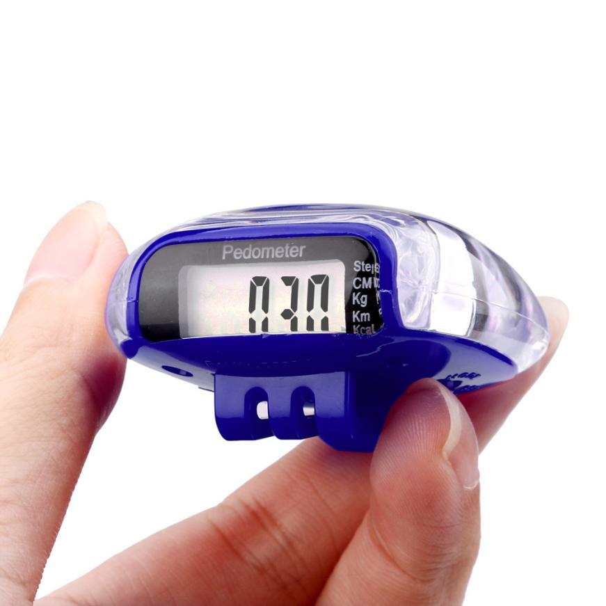 Activing Mini LCD Pedometer Walking Run Step Calorie Distance font b Calculation b font Counter ST29