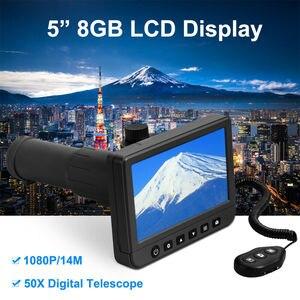 Image 2 - 5.0 inch LCD Digital Monoculars Binoculars Camera 50x 1080P Video Photo Recorder Telescope for Watching Free 8GB TF Card