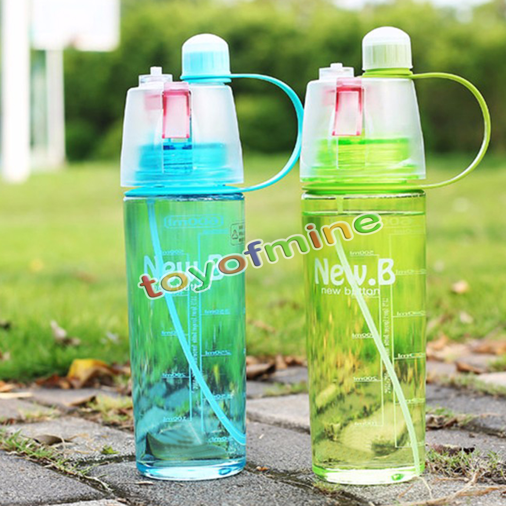 Water Bottle Uses: New Arrival Sports Spray Water Bottle Dual Use Bpa Free