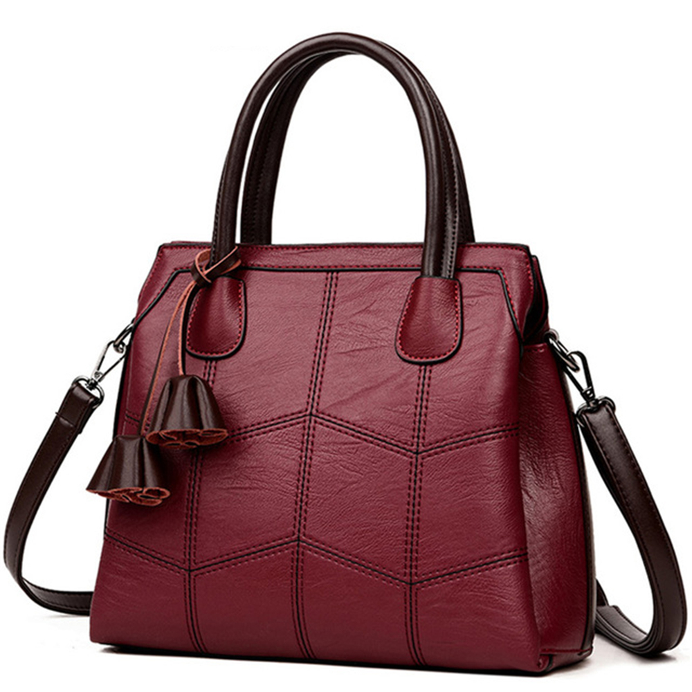 Hot Genuine Leather Luxury Handbags Women Bags Designer High Quality Casual Tote Female Shoulder Crossbody Bag Sac A Main Femme