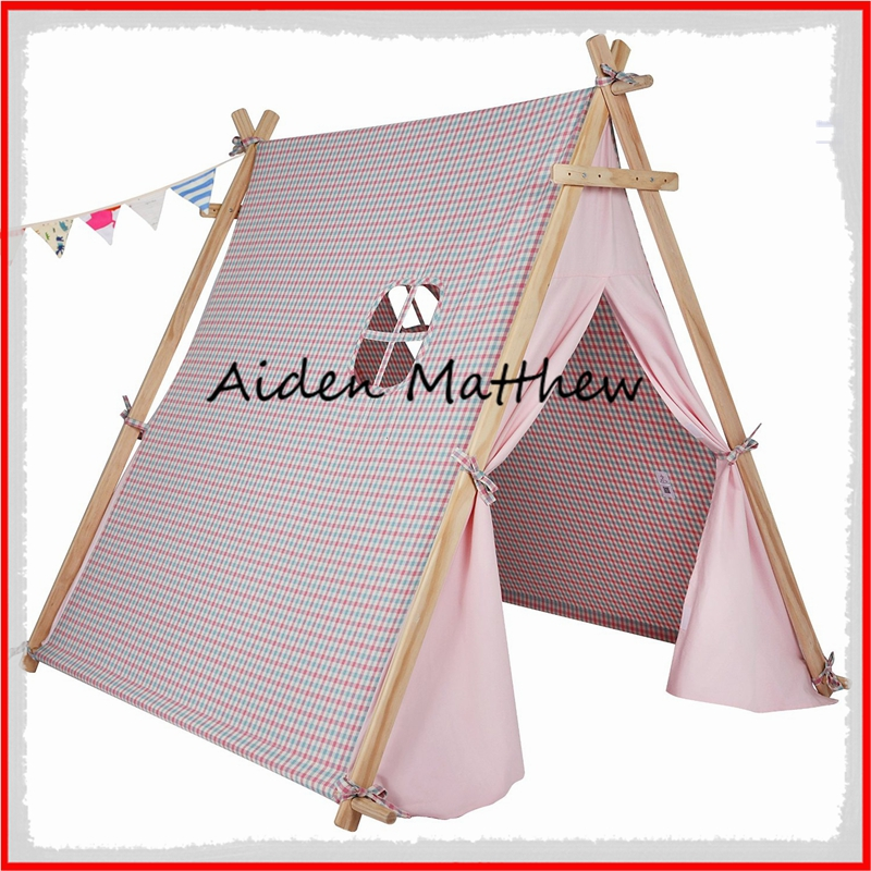 High Quality Cotton canvas Tent For Children Tipi Tents ...