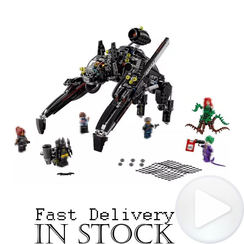 LEPIN 07056 DC Batman Ride Scuttler Batmobile Vehicle Bricks Set Building Block Toys for kids Movie Compatible leGoINGly 70908