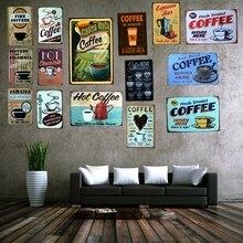 Costa Rica Coffee Tin Metal Sign Vintage Placas Decorativas Wall Pub  Cafe Shop Home Art Decor Cuadros A-1011 цена в Москве и Питере