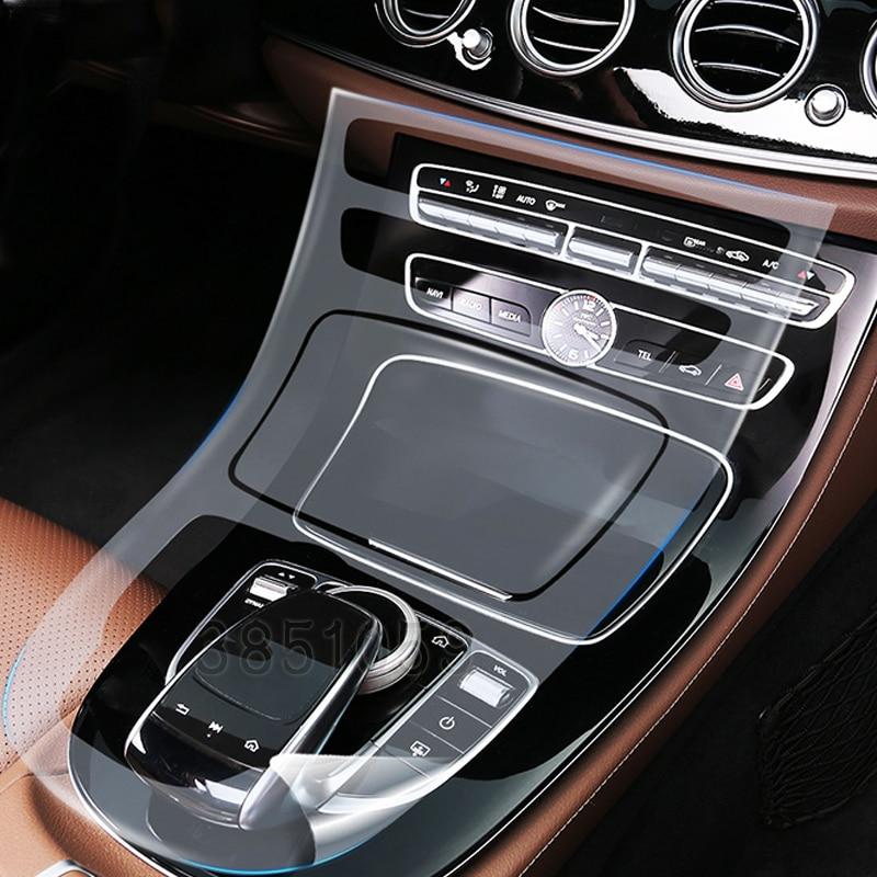 6pcs Car Styling For Mercedes Benz W213 New E Class E200/260/300/200L High Quality TPU Car Transparent Protective Film Stickers