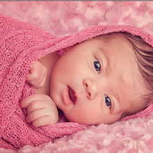 150*40cm Stretch Knit Newborn Photography Nubble Rayon