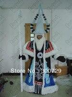 Caliente venta faraón carácter trajes de la mascota persona onesies para adultos