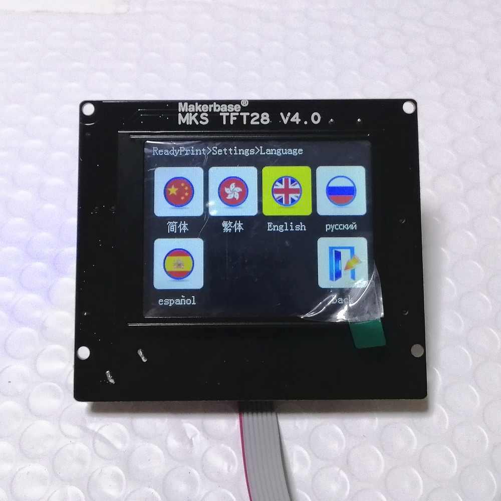 3D Máy In Điều Khiển Thẻ MKS Căn Cứ V1.6 + MKS TFT 28 Màn Hình Cảm Ứng Tất Cả Trong Một Bộ Điều Khiển Khởi Động Bộ Dụng Cụ Reprap bảng Điều Khiển