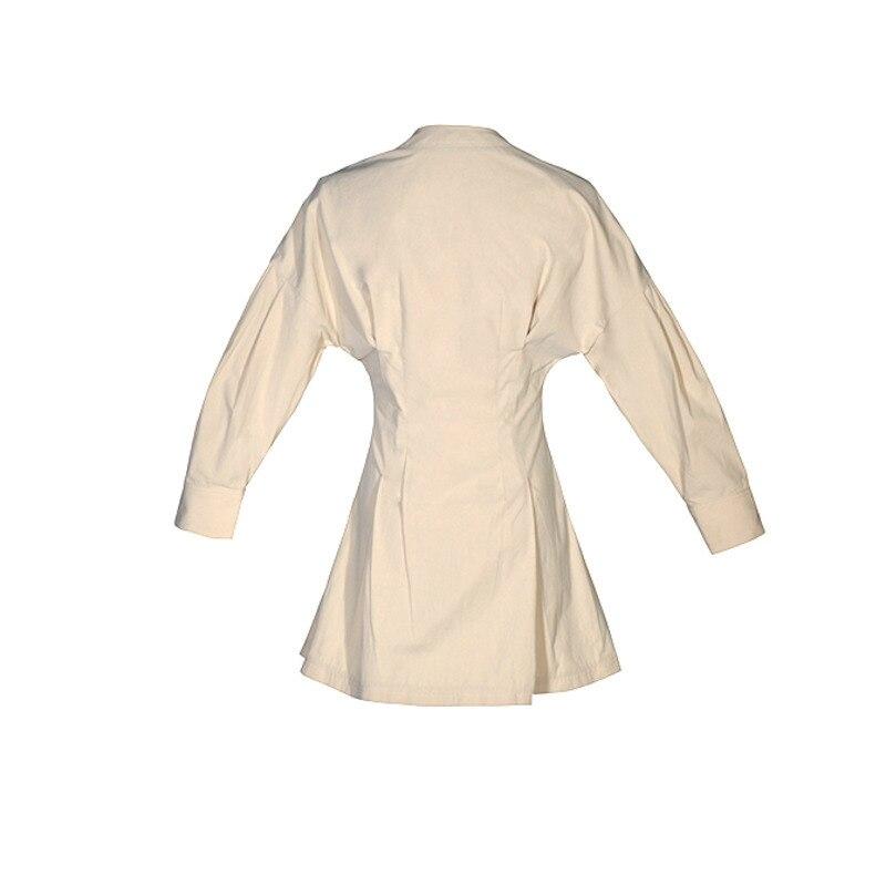 Manteau Complet Marée Mode Nouveau Taille Mince Causalité Lâche Poches Manches O Ob372 Printemps Bouton De Collier eam Khaki 2019 Femmes Gros wZxqFUXwf