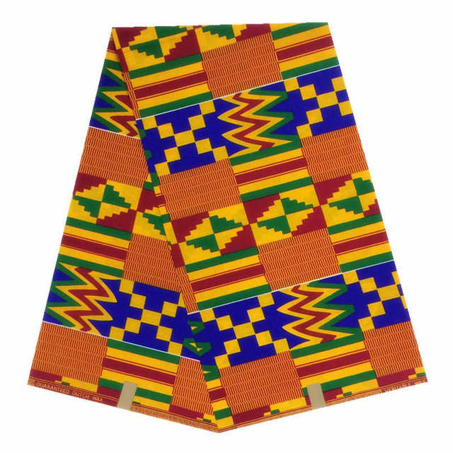 ON SALE! good quality 100% cotton African Wax Printed fabric for West Africa Market kente style wax fabric cheap price
