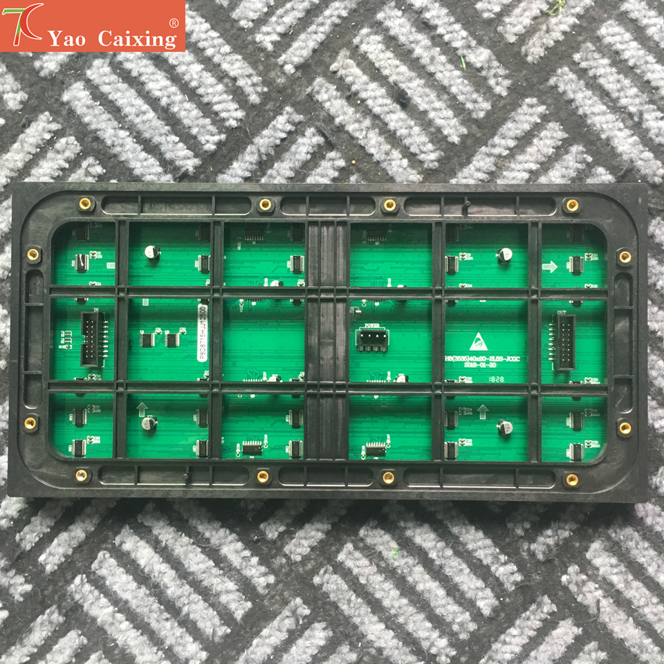 Aliexpress Outdoor 320*160mm 40*20pixels 3in1 SMD 1/5scan RGB P8 Full Color LED Module For Advertising Media LED Display